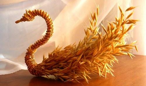 Поделки из кукурузной соломки